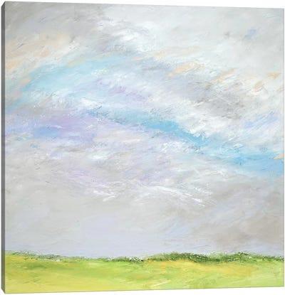 Blue Promise Canvas Art Print