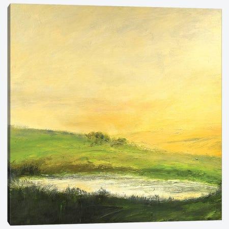 August Sunrise Canvas Print #RGO30} by Rich Gombar Canvas Art
