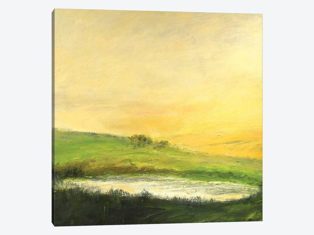 August Sunrise by Rich Gombar 1-piece Canvas Wall Art