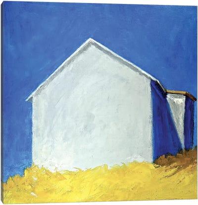 Bright Barn Canvas Art Print