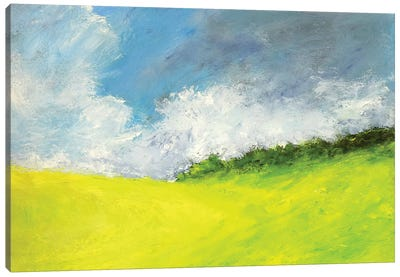 May Clouds Canvas Art Print