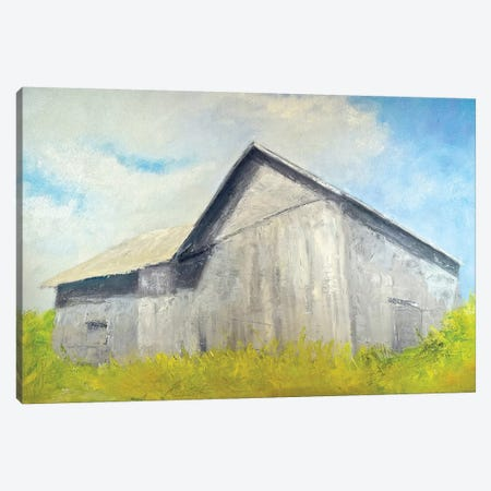 Old Gray Barn Canvas Print #RGO40} by Rich Gombar Canvas Art Print