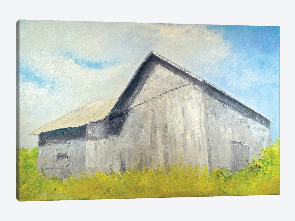 Old Gray Barn by Rich Gombar 1-piece Art Print