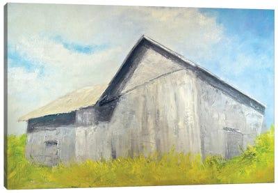 Old Gray Barn Canvas Art Print