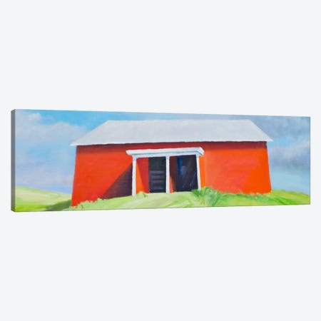 Head On Barn Canvas Print #RGO8} by Rich Gombar Art Print