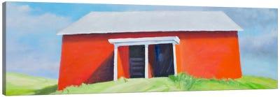 Head On Barn Canvas Art Print