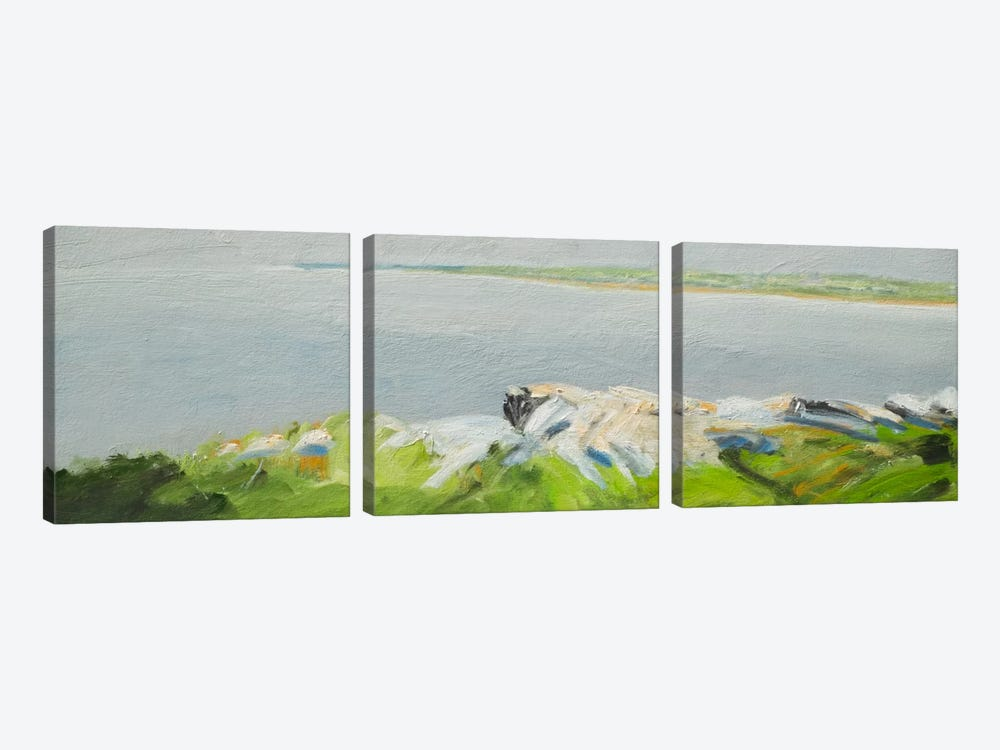 Jeness Beach by Rich Gombar 3-piece Canvas Artwork
