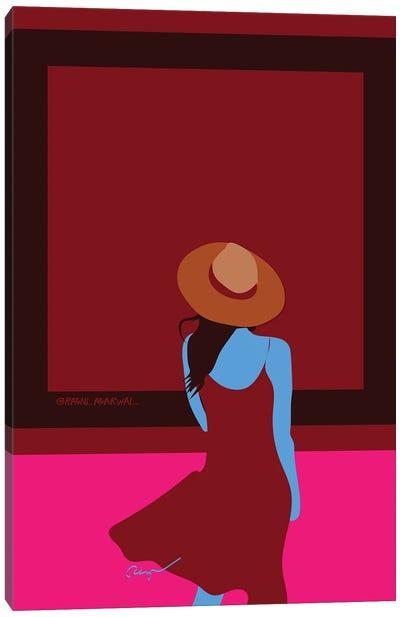 Blank Canvas Canvas Art Print