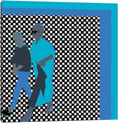 Blues Bros Canvas Art Print