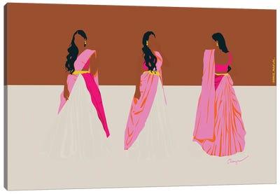 Dance Rani Canvas Art Print