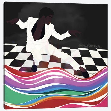 Dapper Dance Canvas Print #RGR47} by Ragni Agarwal Canvas Print