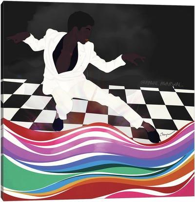 Dapper Dance Canvas Art Print