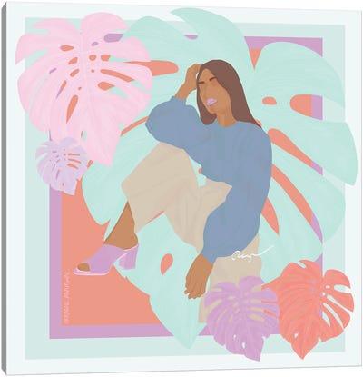 Hot Tropics Canvas Art Print