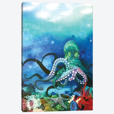 Octocanon Canvas Print #RGZ11} by Patricia Rodriguez Canvas Print