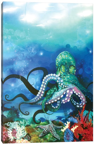 Octocanon Canvas Art Print