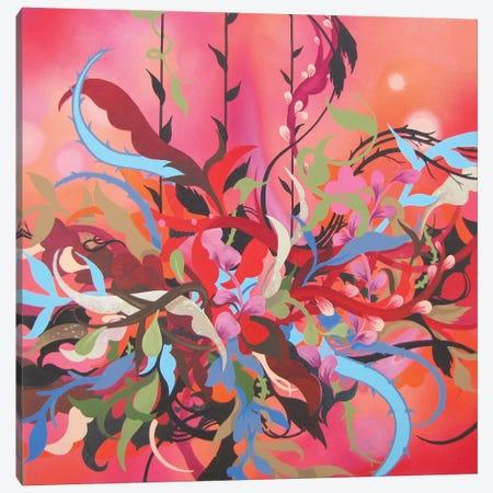 Red Arrangement Canvas Print #RGZ13} by Patricia Rodriguez Canvas Art Print