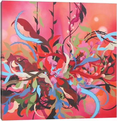 Red Arrangement Canvas Art Print