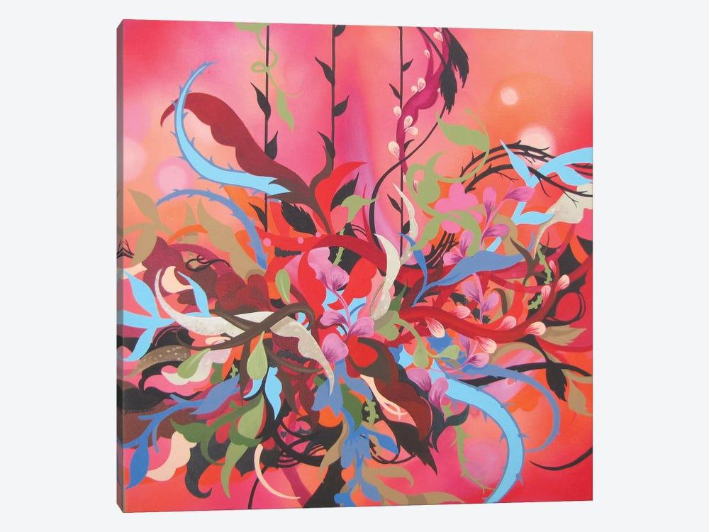 Red Arrangement by Patricia Rodriguez 1-piece Canvas Artwork