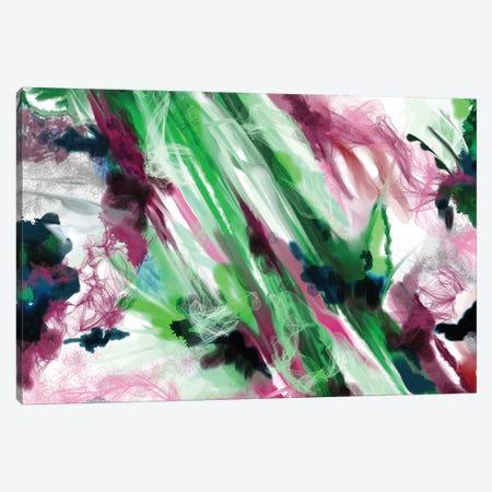 Smoke Crystal 3-Piece Canvas #RGZ17} by Patricia Rodriguez Canvas Art