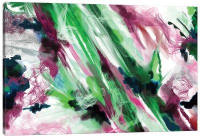 Smoke Crystal Canvas Art Print