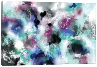 Smokey Crystal Canvas Art Print