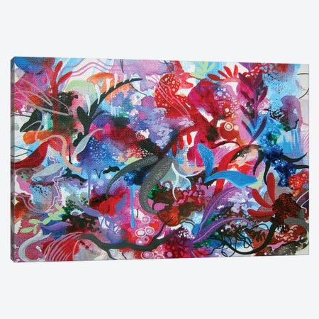 Submerge Emerge Canvas Print #RGZ27} by Patricia Rodriguez Art Print