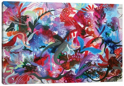Submerge Emerge Canvas Art Print