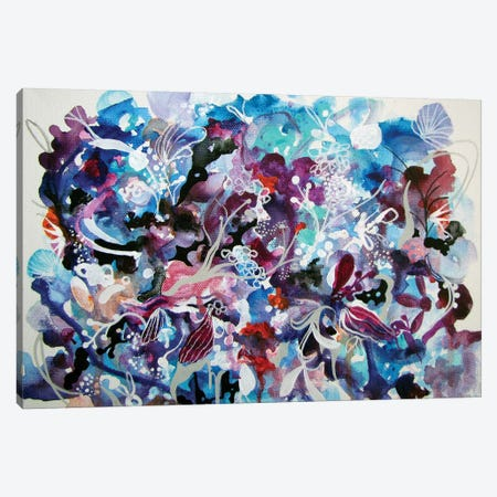 Winter Wait I Canvas Print #RGZ29} by Patricia Rodriguez Canvas Artwork