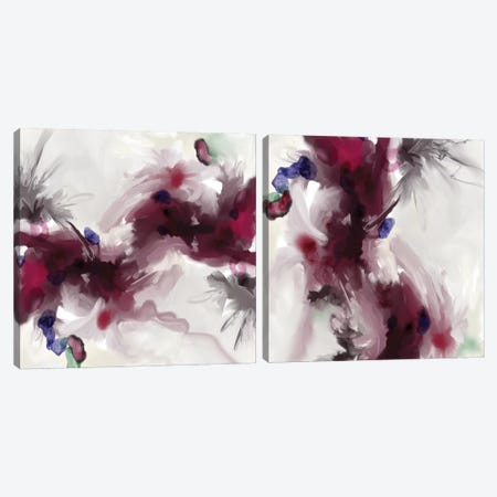 Plum Diptych Canvas Print Set #RGZ2HSET001} by Patricia Rodriguez Canvas Print