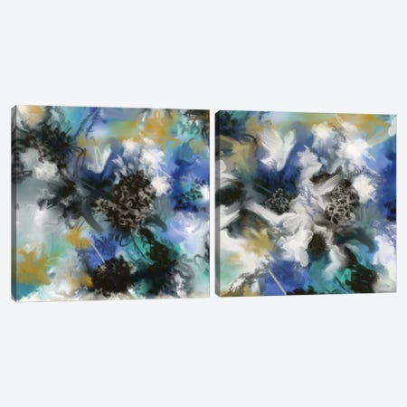 Ochret Diptych Canvas Print Set #RGZ2HSET002} by Patricia Rodriguez Canvas Print