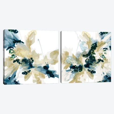 Sanded Diptych Canvas Print Set #RGZ2HSET003} by Patricia Rodriguez Canvas Art Print