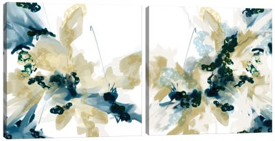 Sanded Diptych Canvas Art Print