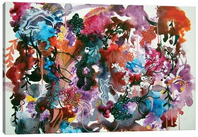 Silent Sound Growth Canvas Art Print