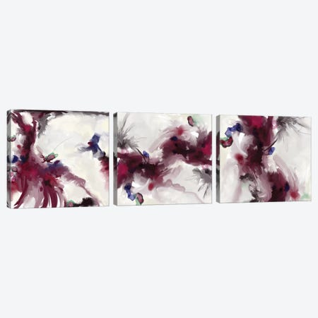 Plum Triptych Canvas Print Set #RGZ3HSET001} by Patricia Rodriguez Canvas Art Print