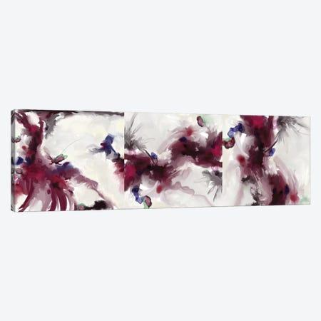 Plum Triptych Canvas Print Set #RGZ3HSET001} by Patricia Rodriguez Canvas Art Print