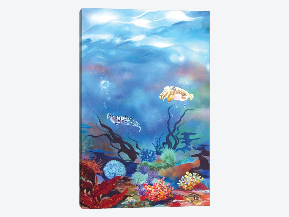 Cuttlefish by Patricia Rodriguez 1-piece Canvas Wall Art