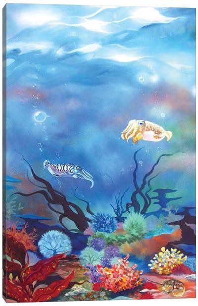 Cuttlefish Canvas Art Print