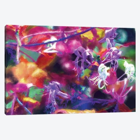 Honeysuckle Evening Canvas Print #RGZ8} by Patricia Rodriguez Art Print