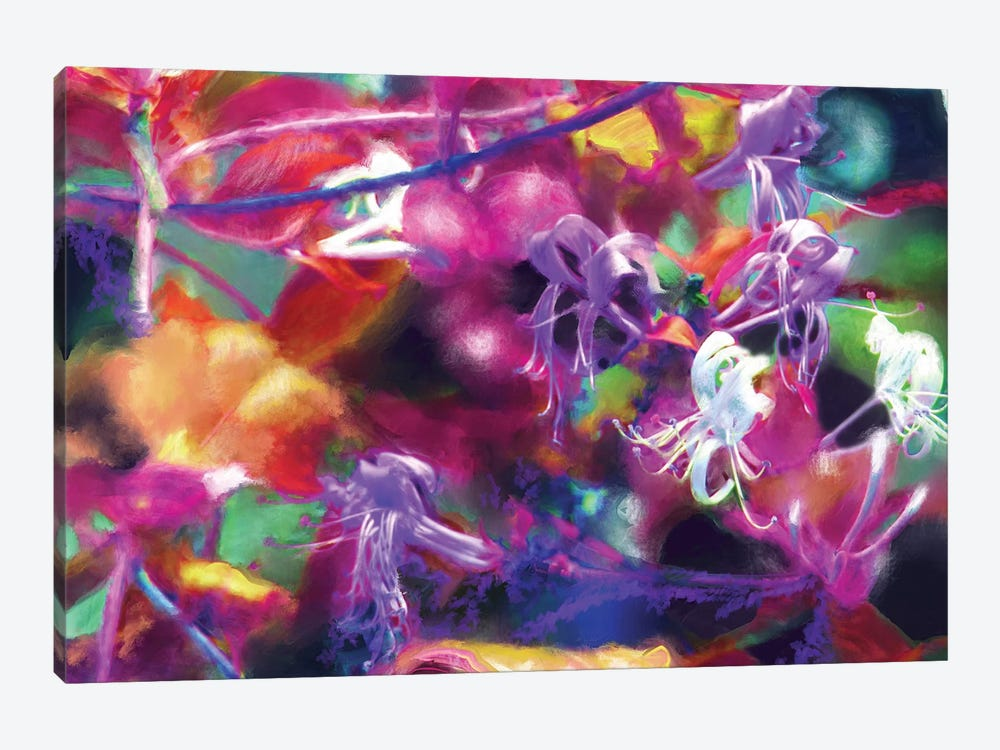 Honeysuckle Evening by Patricia Rodriguez 1-piece Canvas Artwork