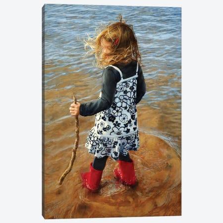 Red Boots Canvas Print #RHE16} by Ralf Heynen Art Print