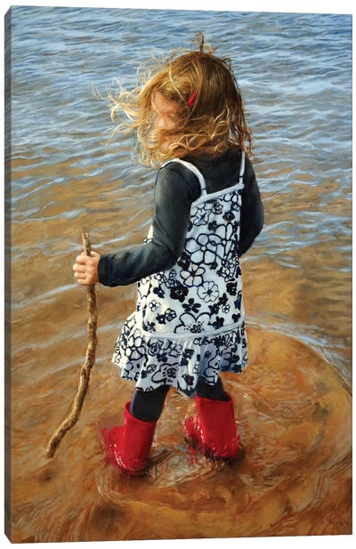 Red Boots Canvas Art Print