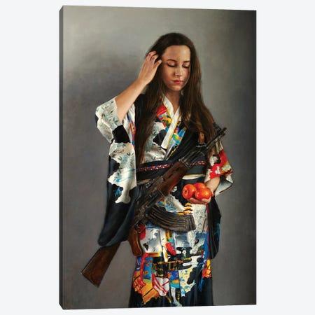 Satsuma Canvas Print #RHE17} by Ralf Heynen Art Print