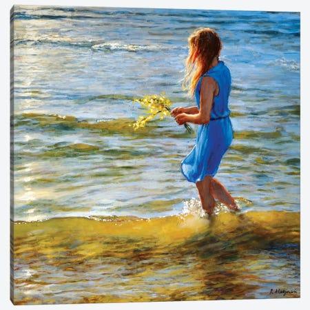 Zuiderstrand Canvas Print #RHE26} by Ralf Heynen Canvas Wall Art