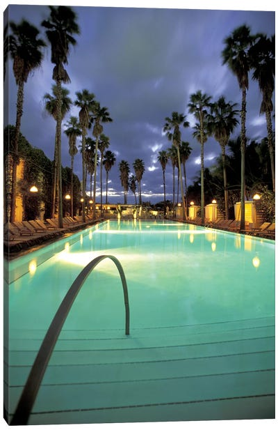 Delano Beach Club Pool, South Beach, Miami Beach, Florida, USA Canvas Art Print