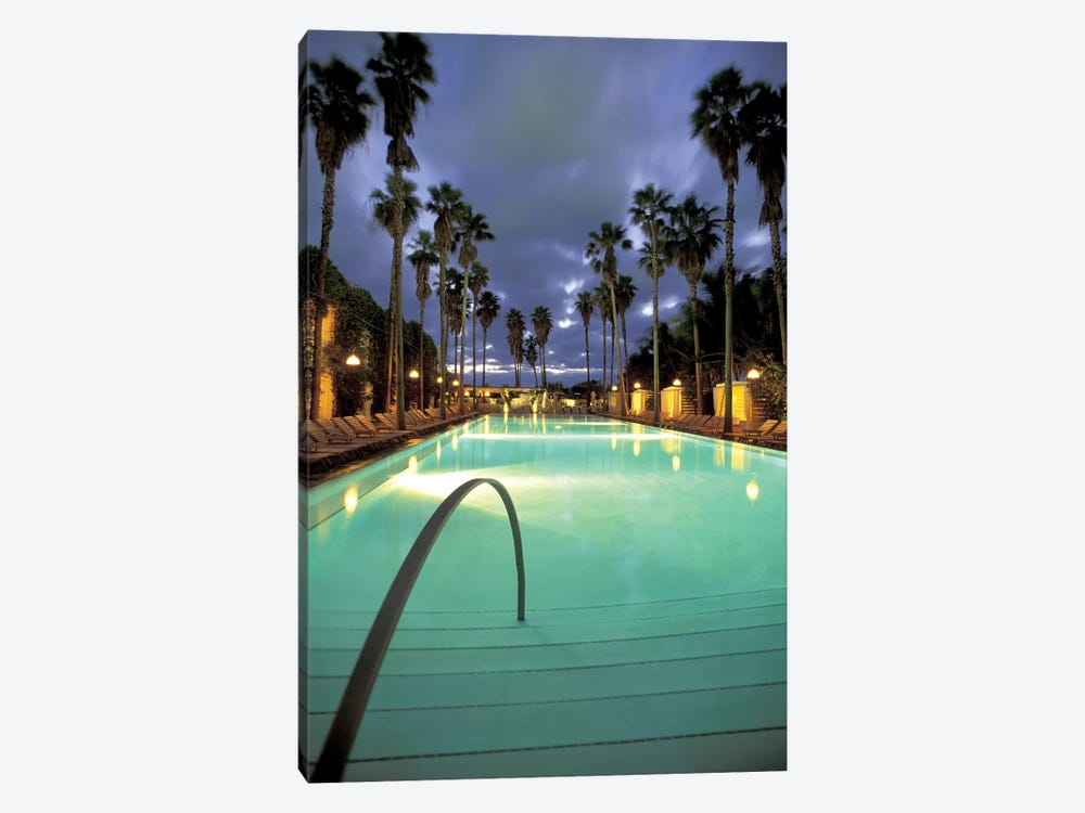 Delano Beach Club Pool, South Beach, Miami Beach, Florida, USA by Robin Hill 1-piece Canvas Art