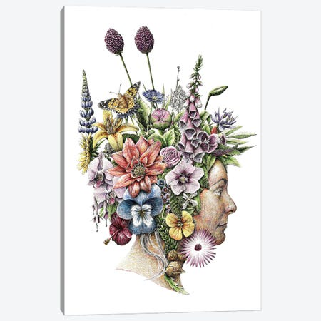 Flowers Canvas Print #RHK10} by Redmer Hoekstra Canvas Artwork