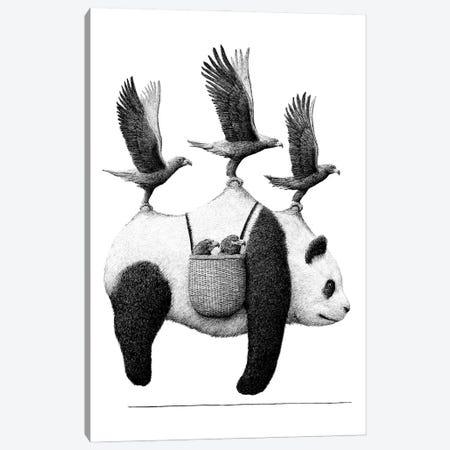 Panda Canvas Print #RHK18} by Redmer Hoekstra Canvas Artwork