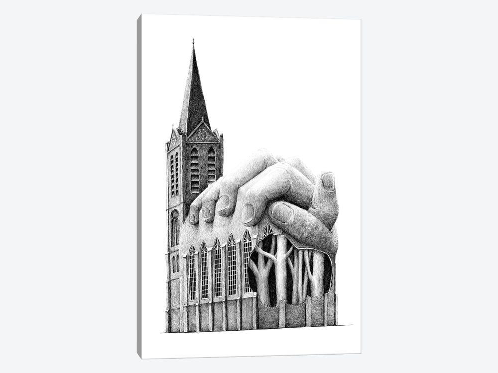 Prayer by Redmer Hoekstra 1-piece Canvas Print