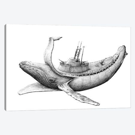Submarine Canvas Print #RHK24} by Redmer Hoekstra Canvas Art