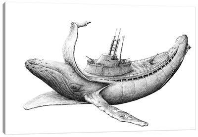 Submarine Canvas Art Print